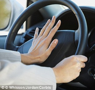 Steering wheels contain all the bacteria from a person