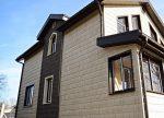 Обшитые дома – Чем обшить дом снаружи — доступные решения