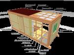 Устройство бытовки – каркасная, деревянная, металлическая, пошаговая фото-инструкция, видео