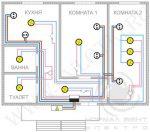 Электрическая схема проводки в квартире – типовые схемы и программы для расчетов