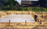 Фундамент плита под баню – Плитный фундамент под баню своими руками: пошаговая инструкция