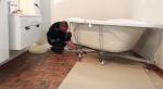 Установка акриловой ванны тритон – Видео инструкция по установке акриловой ванны Triton на каркас
